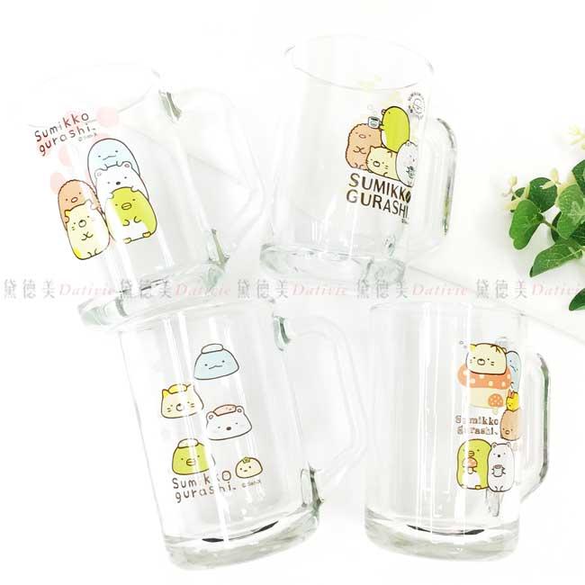 玻璃米魯杯 SAN-X 角落生物 441ml 玻璃杯 正版授權