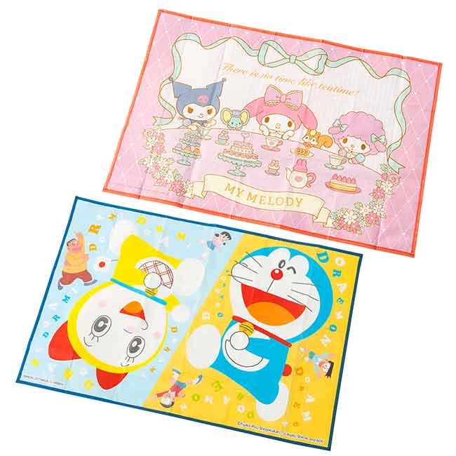 野餐墊 三麗鷗 美樂蒂 哆啦A夢 DORAEMON 可愛野餐墊 日本進口正版授權