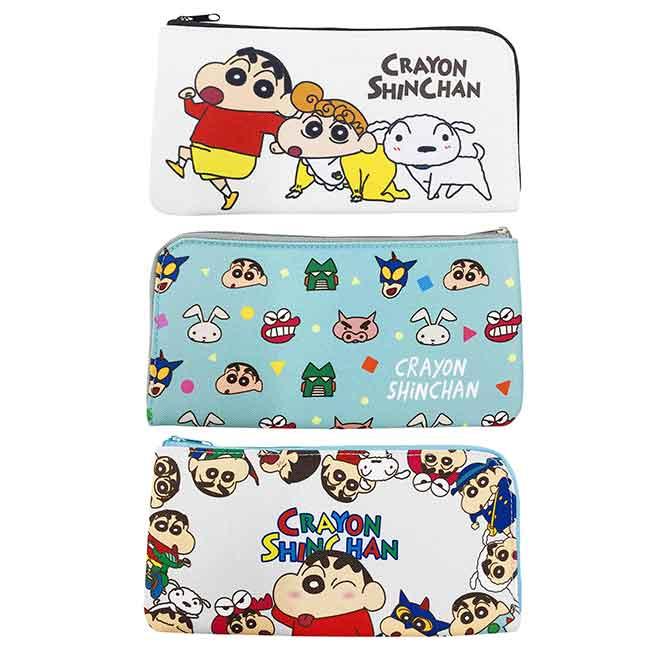 口罩收納袋 蠟筆小新 抗菌防臭 Crayon Shin Chain 收納套 日本進口正版授權