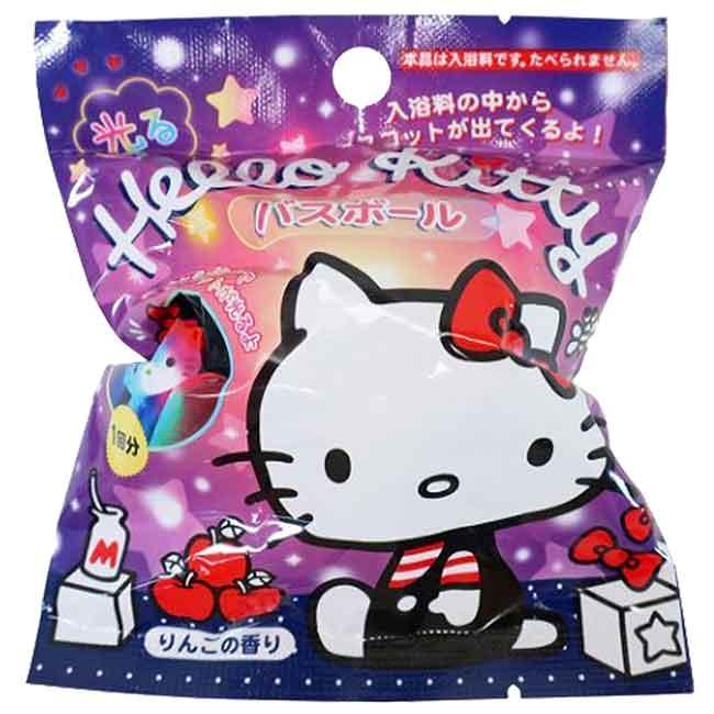 沐浴球 三麗鷗 HELLO KITTY 凱蒂貓 80g 泡澡球 日本進口正版授權