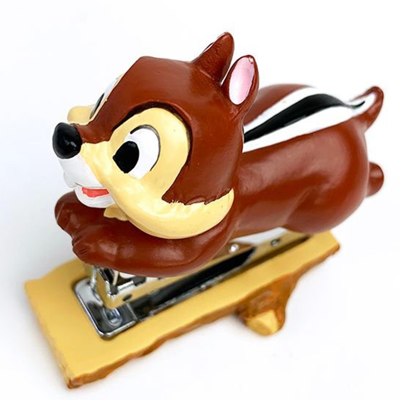 造型陶瓷釘書機-奇奇 Chip STAPLER Chip 'n' Dale 奇奇蒂蒂 迪士尼 DISNEY 日本進口