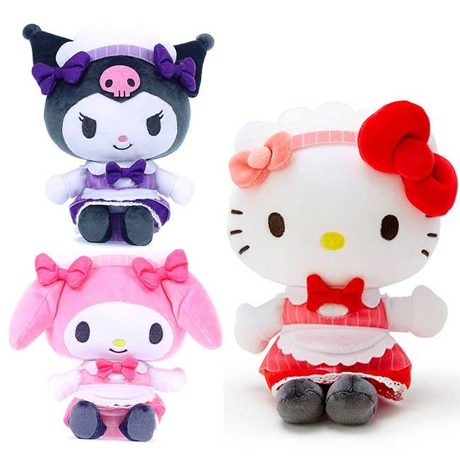 絨毛娃娃 三麗鷗 KITTY 美樂蒂 玩偶 日本進口正版授權