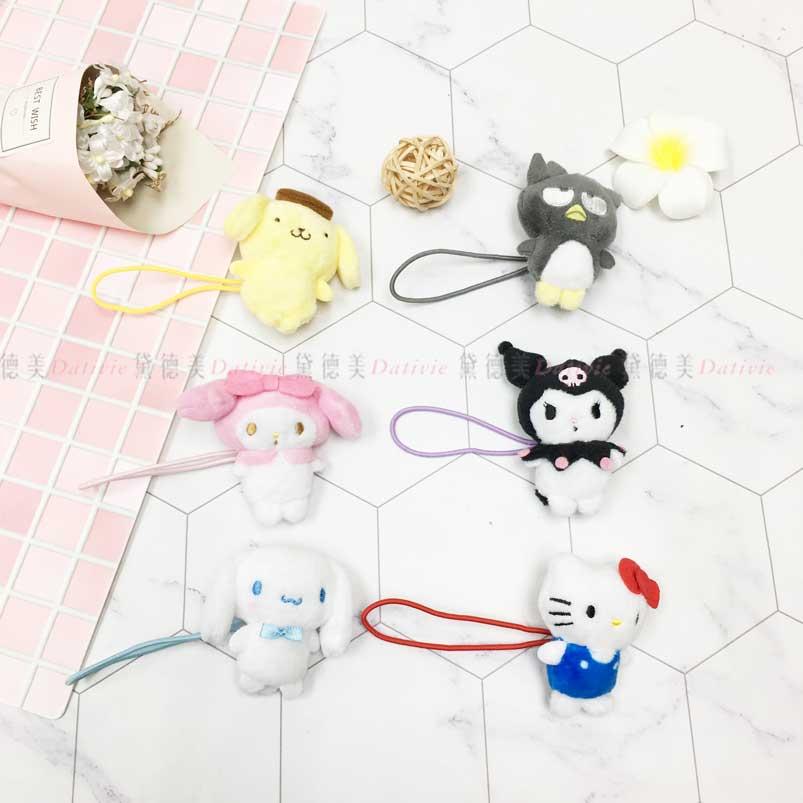 髮束 三麗鷗 KT 酷企鵝 布丁狗 美樂蒂 酷洛米 大耳狗 造型髮束 日本進口正版授權