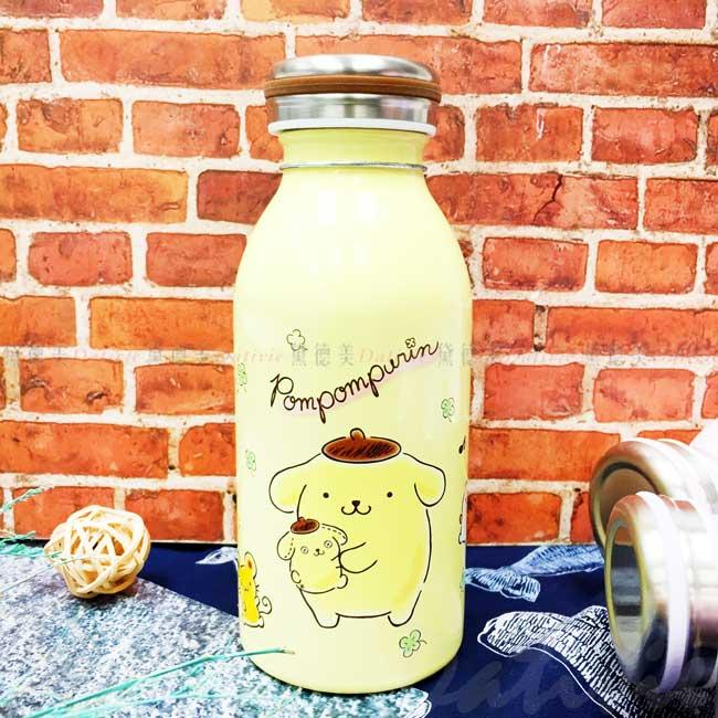 真空保溫保冷瓶 三麗鷗 布丁狗 水瓶 正版授權