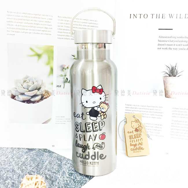 不鏽鋼保溫瓶 三麗鷗 Sanrio 凱蒂貓 KITTY 酷炫運動瓶 正版授權