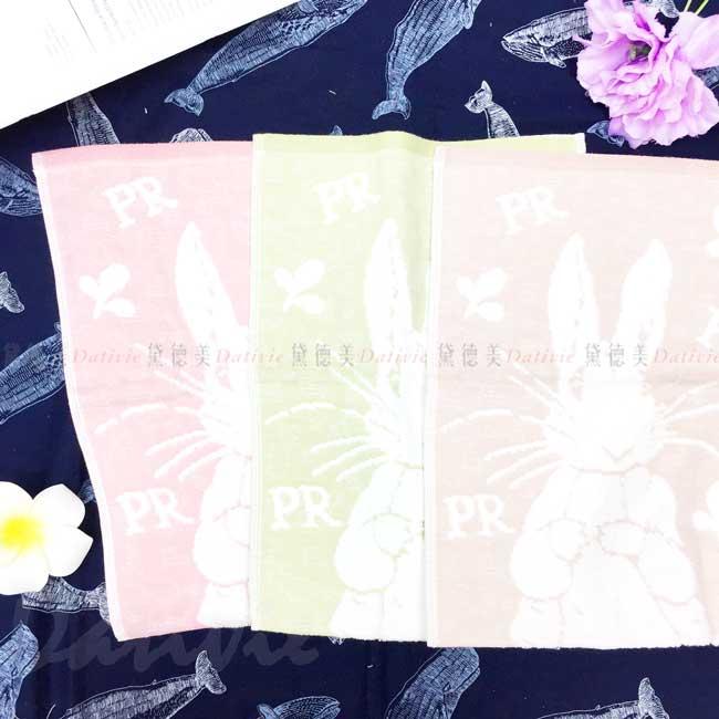 紗布無捻緹花童巾 彼得兔 Peter Rabbit 比得兔 毛巾 正版授權