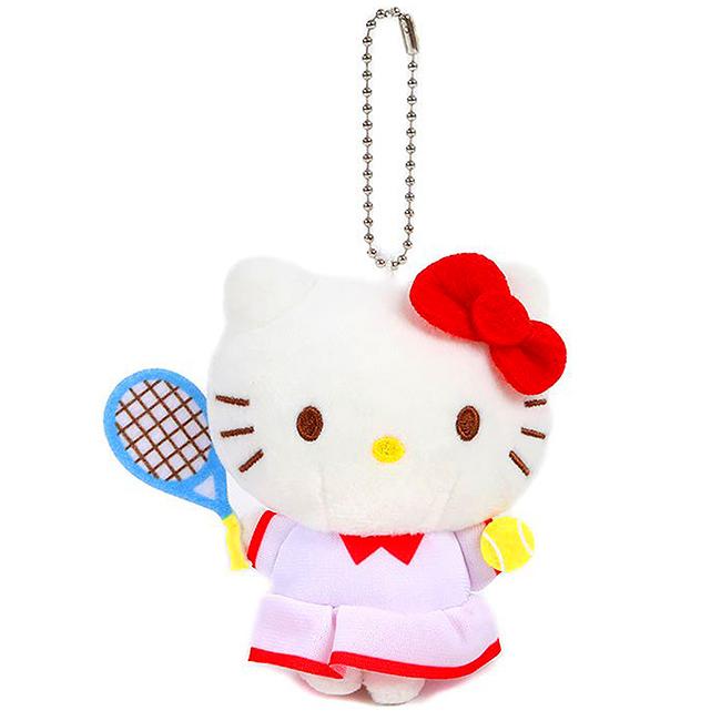 造型玩偶吊飾 三麗鷗 Hello Kitty 應援啦啦隊 絨毛 玩偶 娃娃 吊飾 日本進口正版授權