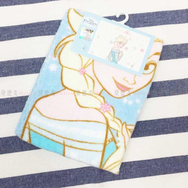 童巾 迪士尼 冰雪奇緣 ELSA 純棉毛巾 正版授權