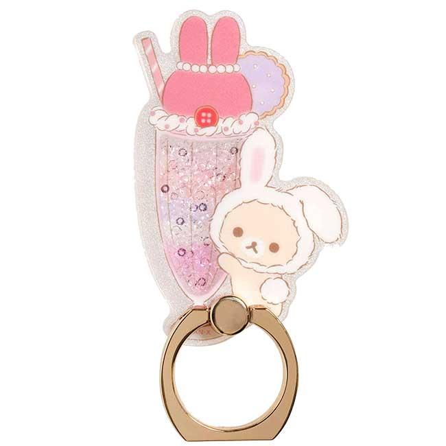 指環扣手機支架 SAN-X 懶懶熊 牛奶熊仿兔 拉拉熊 手機扣環 日本進口正版授權