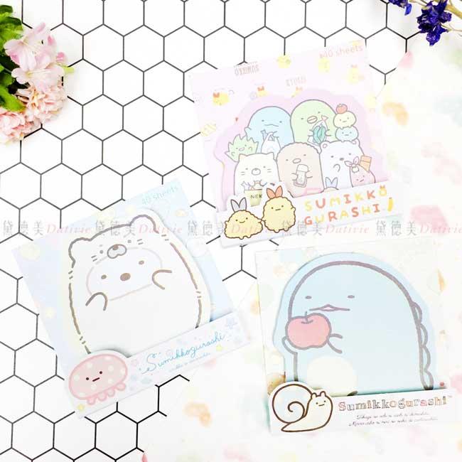 造型便利貼 san-x 角落生物 sumikko gurashi memo貼 正版授權
