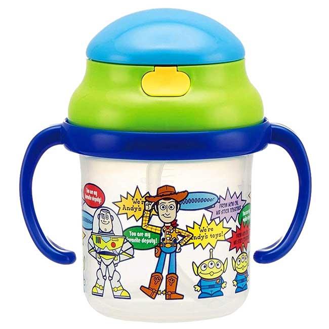 學習杯 迪士尼 皮克斯 玩具動員 STRAW MUG TOY STORY SKATER 幼童水瓶 日本進口正版授權
