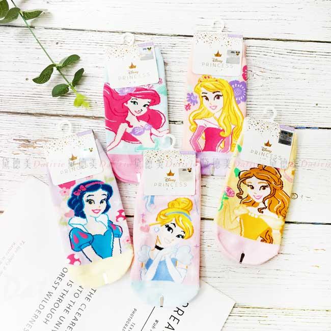 直版襪 迪士尼 公主系列 PRINCESS 15-22cm 襪子 正版授權