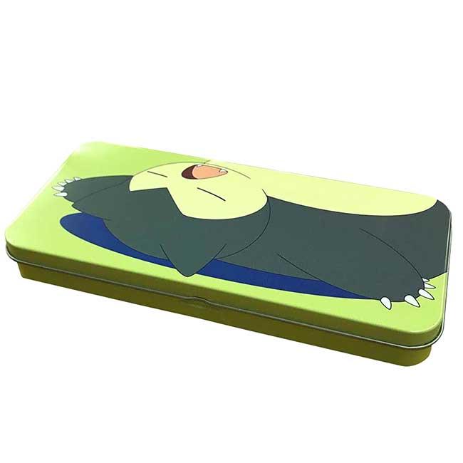 鐵筆盒 日本 寶可夢 卡比獸 Snorlax POKEMON 鉛筆盒 日本進口正版授權