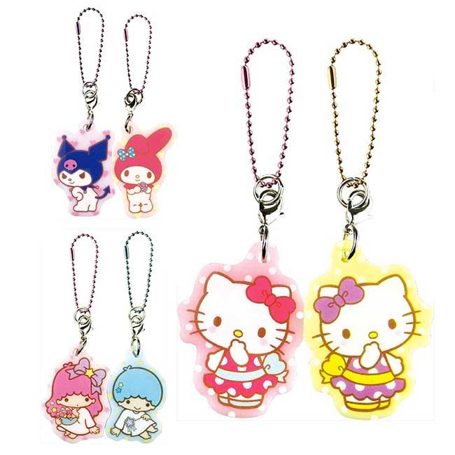吸磁吊飾 三麗鷗 凱蒂貓 雙子星 美樂蒂 造型吊飾 日本進口正版授權