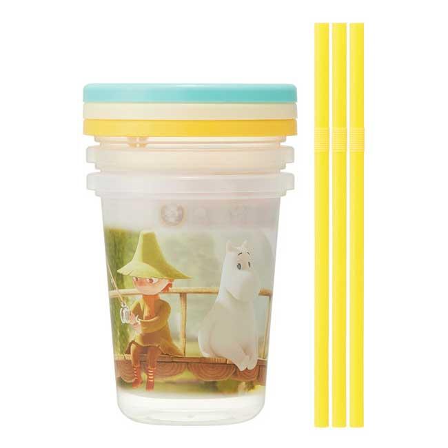 吸管杯 日本 嚕嚕米 STATER MOOMIN 杯子 日本進口正版授權