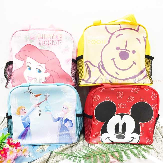 萬用手提袋 迪士尼 冰雪奇緣 維尼 小美人魚 米奇 便當袋 正版授權
