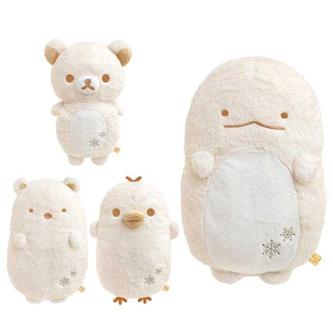 暖手娃娃M SAN-X 拉拉熊 小雞 恐龍 白熊 角落生物 絨毛娃娃 日本進口正版授權