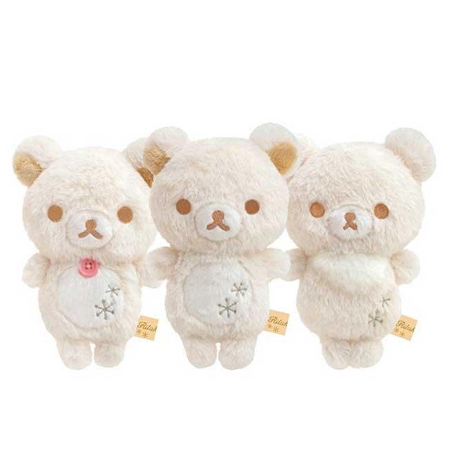 絨毛娃娃 S 拉拉熊雪白系列 Rilakkuma 懶懶熊 玩偶 日本進口正版授權