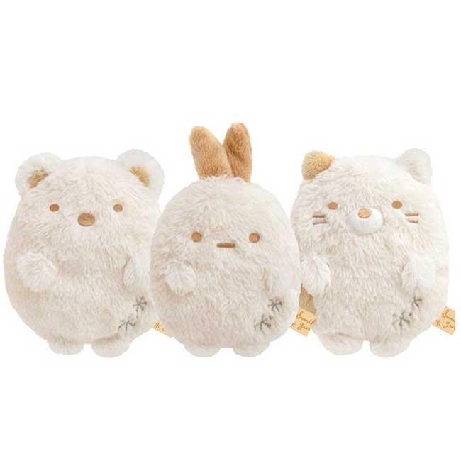 絨毛娃娃 S san-x 角落生物 恐龍 貓咪 炸蝦 雪白系列 玩偶 日本進口正版授權
