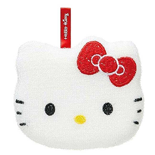 清潔海綿 三麗鷗 凱蒂貓 SKATER KITTY 造型海綿 日本進口正版授權
