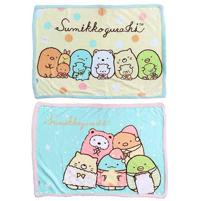 小毛毯 SAN-X 角落小夥伴 sumikko gurashi 被子 日本進口正版授權