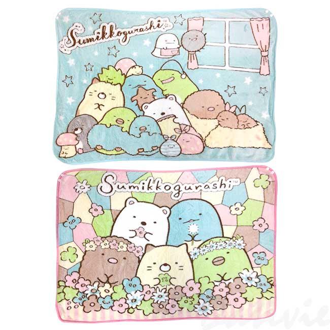 小毛毯 SAN-X 角落生物 sumikko gurashi 被子 日本進口正版授權