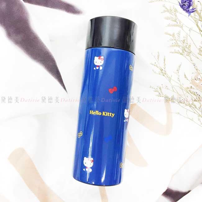 超輕量旋轉蓋不鏽鋼保溫瓶 三麗鷗 凱蒂貓 KITTY SKATER 水瓶 日本進口正版授權