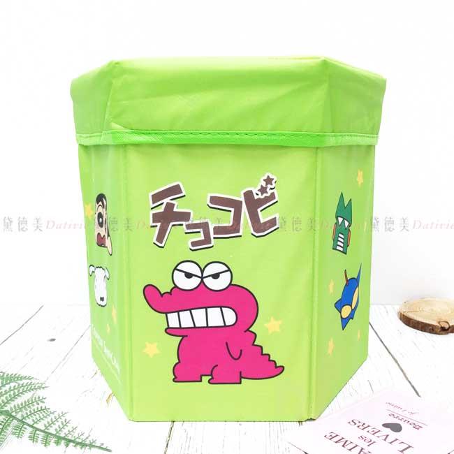 摺疊收納箱 蠟筆小新 Crayon Shin Chain 板凳箱 正版授權