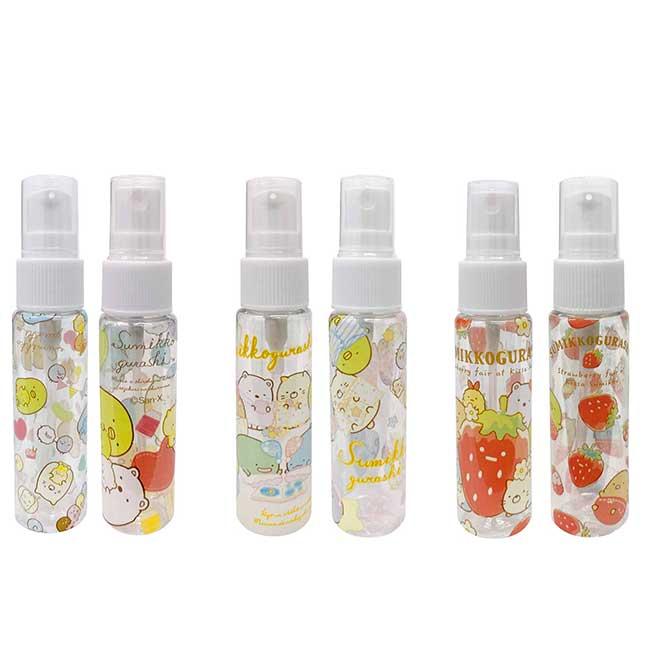 透明塑膠噴瓶 san-x 角落生物 sumikko gurashi 30ml容器 日本進口正版授權