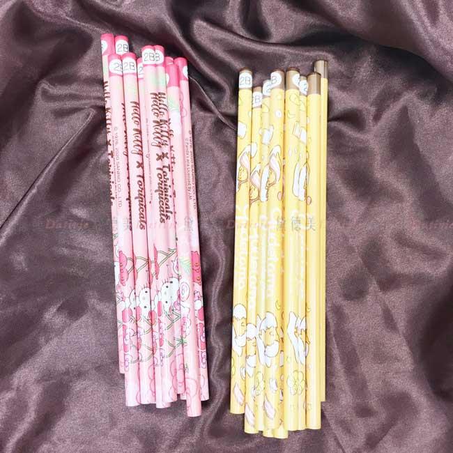 12入木頭鉛筆 三麗鷗 KT 蛋黃哥 可削式鉛筆 正版授權