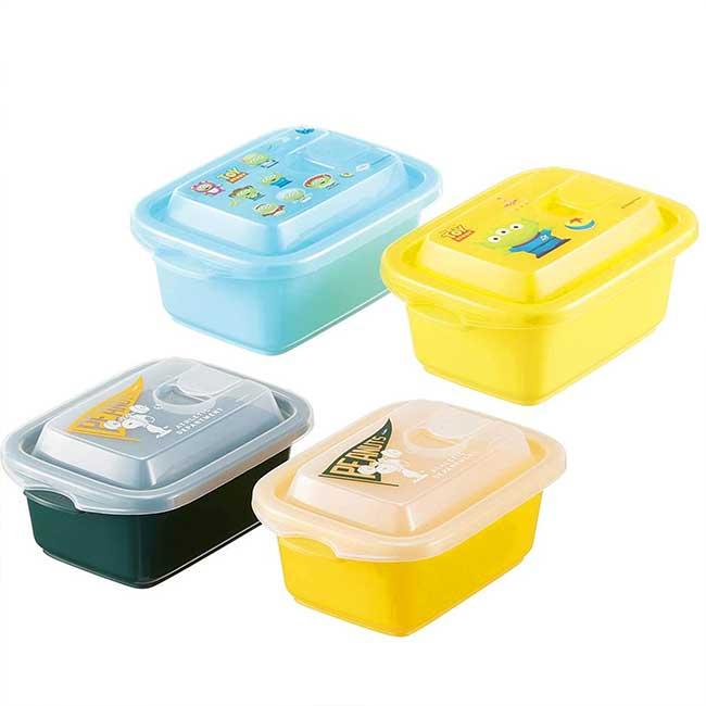 保鮮盒300ml2入 日本 迪士尼 皮克斯 玩具總動員 三眼怪 SNOOPY 便當盒 日本進口正版授權