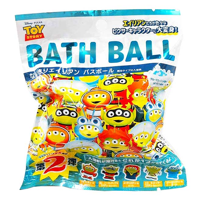 沐浴球60G 迪士尼 皮克斯 三眼怪 玩具總動員 泡澡球 日本進口正版授權