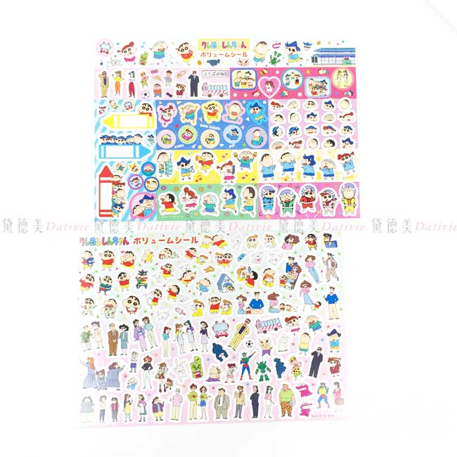貼紙 日本 蠟筆小新 春日部防衛隊 造型貼紙 日本進口正版授權