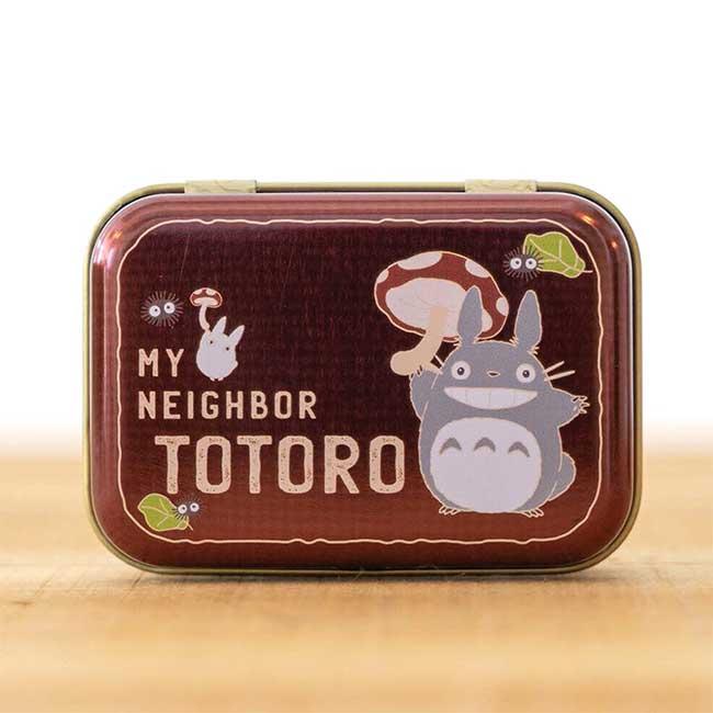 迷你鐵置物盒 宮崎駿 龍貓 豆豆龍 TOTORO SEISEN 吉卜力 小鐵盒 日本進口正版授權