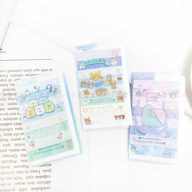 便利貼本 日本 SAN-X 角落生物 拉拉熊 懶懶熊 memo貼 日本進口正版授權