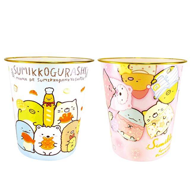 圓形垃圾桶 SAN-X 角落小夥伴 sumikko gurashi 垃圾筒 日本進口正版授權
