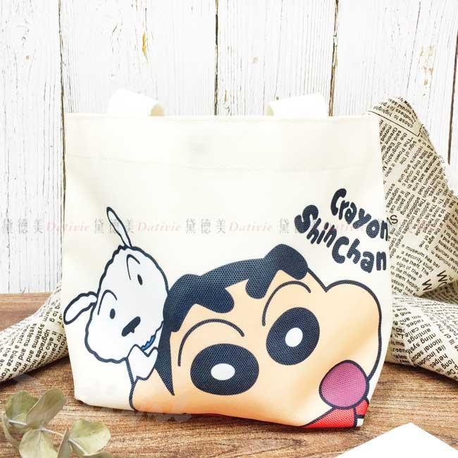 帆布手提袋 蠟筆小新 Crayon Shin Chain クレヨンしんちゃん 提包 正版授權