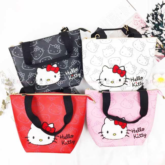 立體精緻縫繡兩用包 三麗鷗 Sanrio 凱蒂貓 KITTY 包包 正版授權