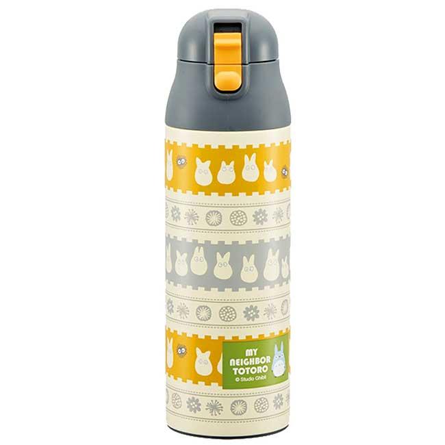 超輕量不鏽鋼直飲式保溫瓶 宮崎駿 龍貓 豆豆龍 吉卜力 水瓶 日本進口正版授權