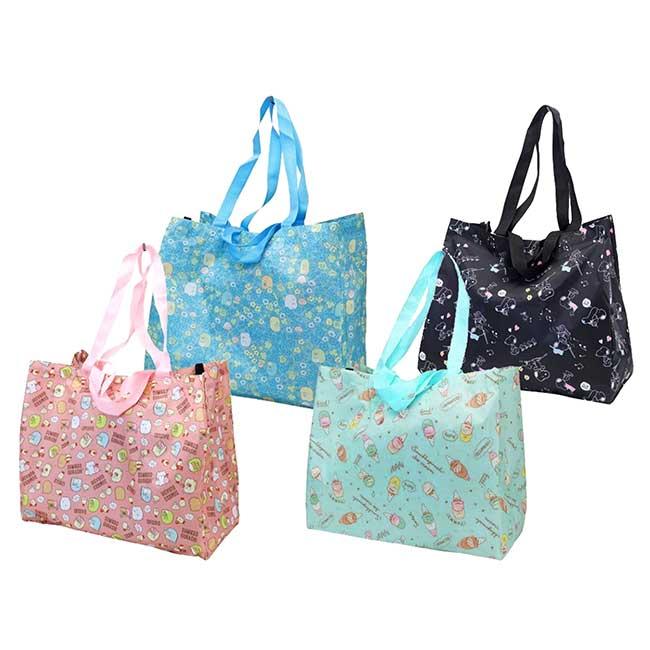 摺疊環保購物袋 SAN-X 角落生物 sumikko gurashi 大提袋 日本進口正版授權