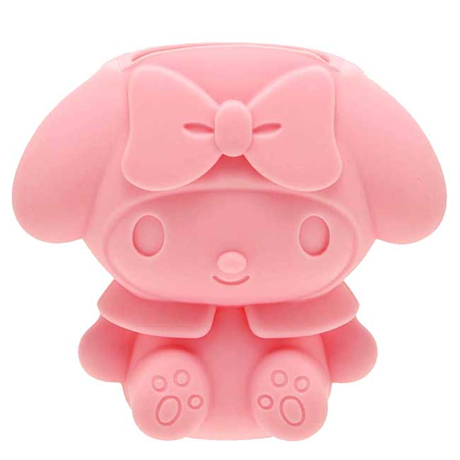 造型矽膠傘握柄止滑套 三麗鷗 Sanrio 美樂蒂 MY MELODY 雨傘套 日本進口正版授權