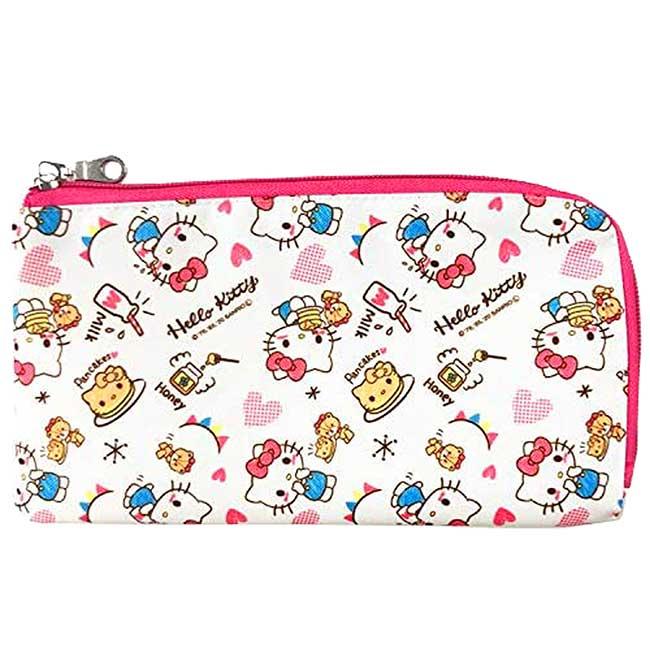 口罩收納袋 三麗鷗 KITTY 凱蒂貓 抗菌防臭 口罩收納套 日本進口正版授權