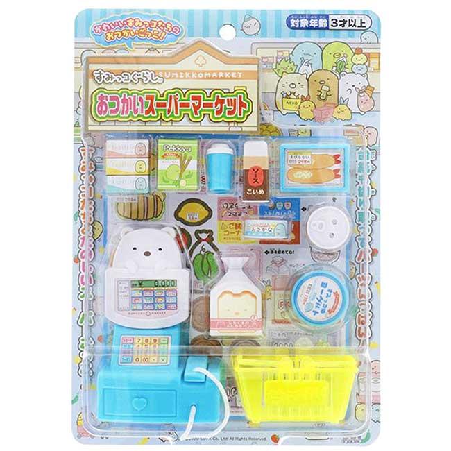 超市收銀機玩具 SAN-X 角落生物 扮家家酒 兒童玩具 日本進口正版授權
