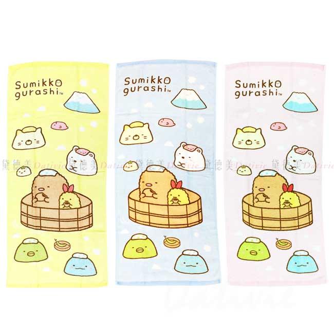 印花純棉毛巾 san-x 角落生物 sumikko gurashi 毛巾 正版授權