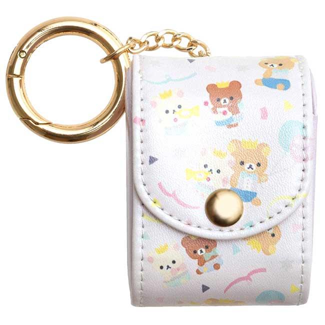 耳機袋 SAN-X 懶懶熊 H.P系列 拉拉熊 Rilakkuma 耳機收納套 日本進口正版授權