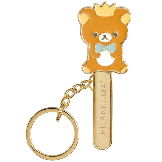 夾式鑰匙圈 SAN-X 懶懶熊 H.P系列 拉拉熊 Rilakkuma 鎖匙圈 日本進口正版授權