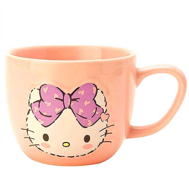 陶瓷馬克杯 Sanrio Original 三麗鷗 KITTY 造型杯子 日本進口正版授權
