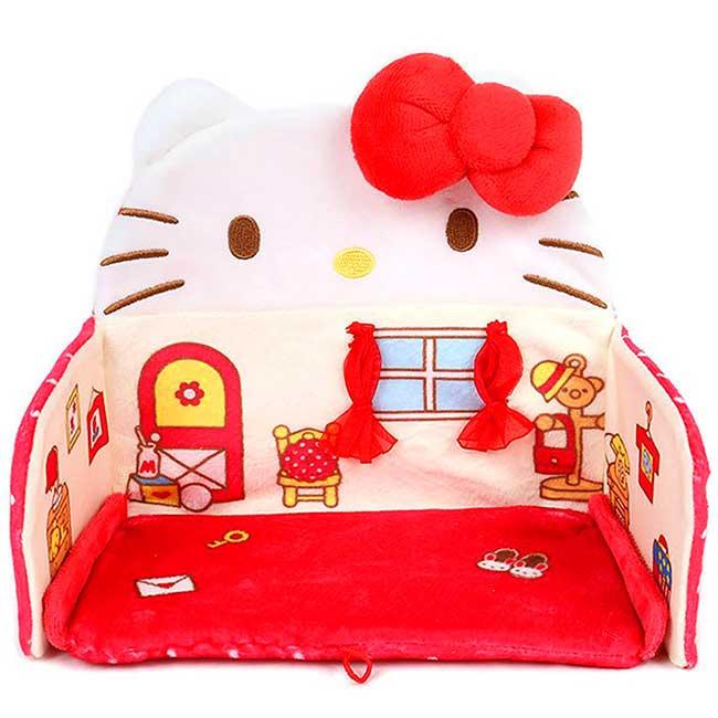 迷你造型絨毛玩偶屋 三麗鷗 Sanrio Original KITTY 玩具屋 日本進口正版授權