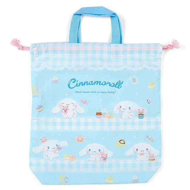 棉質束口提袋 日本 三麗鷗 Sanrio Original 大耳狗 收納袋 日本進口正版授權