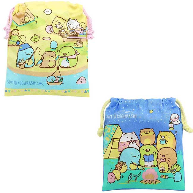 棉質束口袋 san-x 角落小夥伴 收納袋 日本進口正版授權